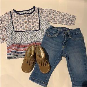 0-3m indie outfit bundle
